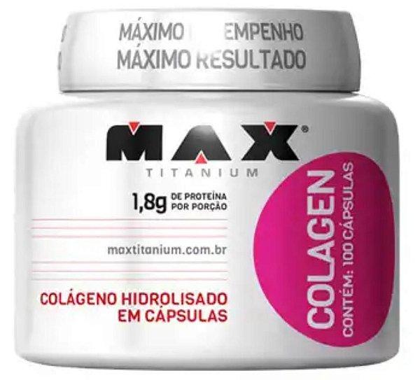 COLAGEN - MAX TITANIUM - 100 CÁPSULAS