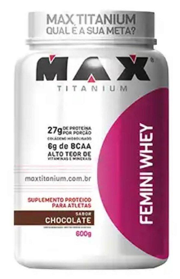 FEMINI WHEY - 900GR - MAX TITANIUM