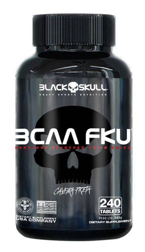BCAA FKU - 240 TABLETES - BLACK SKULL