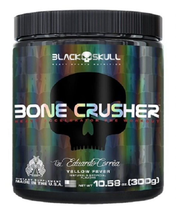 Bone Crusher - 300g - Yellow Fever - Black Skull