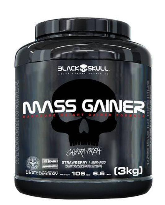 MASS GAINER - 3kg - BLACK SKULL
