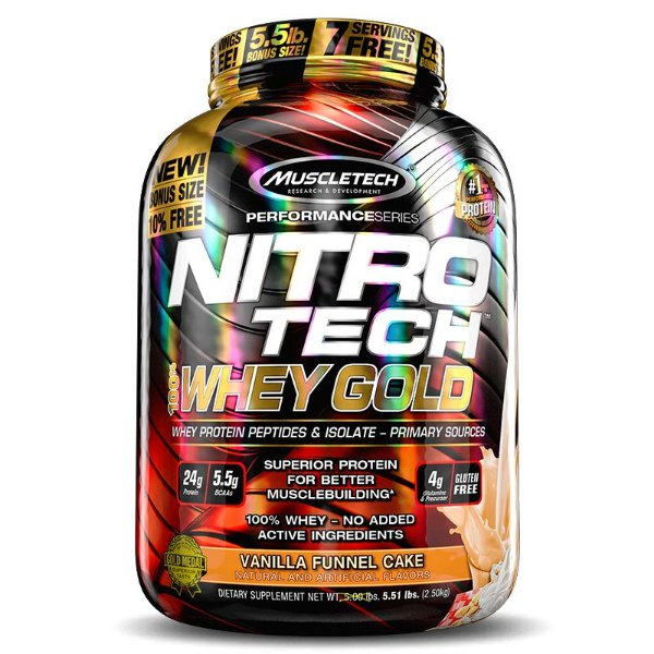 Whey Gold 100% Nitro Tech 1Kg
