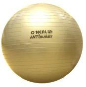 Bola para Ginástica - 75 cm - Dourada - O'neal