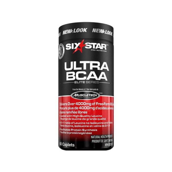 Bcaa Ultra Six Star Muscletech 60 Tabs 4000mg