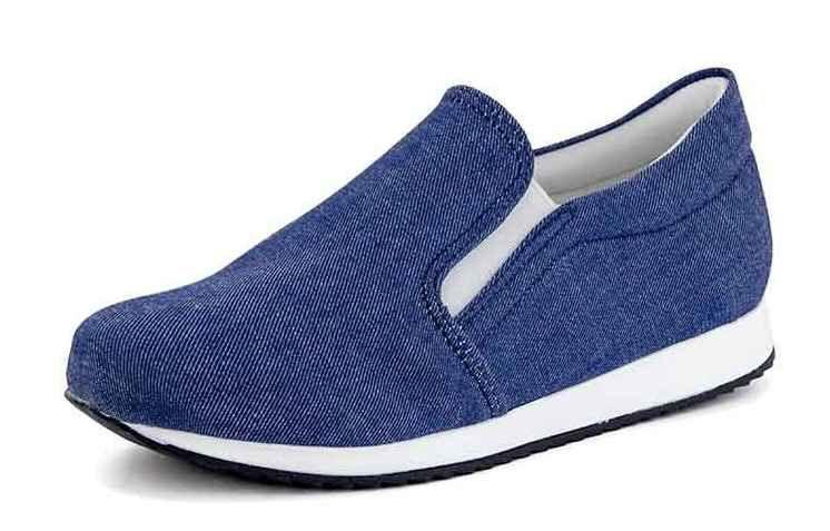 Tênis Jogging Slip On Jeans