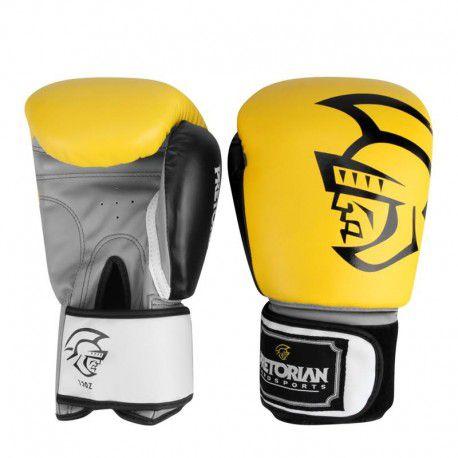 Luva de Boxe  Muay Thai Pretorian Training - 16oz Amarela - Vitrine ... dd9c4f12ae7b6