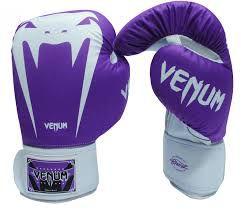 82179d08385 Luva de Boxe  Muay Thai Venum Giant Brasil - Roxa- 12 o - Vitrine Sport
