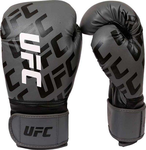 5091cc3a1 Luva de Boxe  Muay Thai Venum UFC- Oficial - Cinza- 12 oz - Vitrine ...