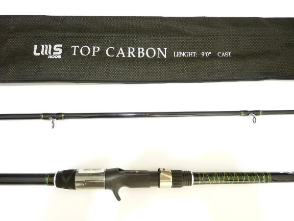 Vara Lumis TOP CARBON 2,70 m (Carbono / carretilha)