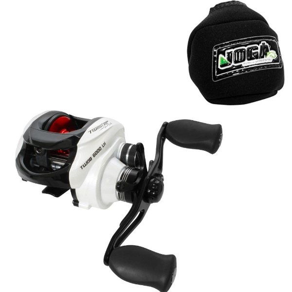 Carretilha Saint Plus Twister Dual Brake 6000 Esq / Dir + Brinde