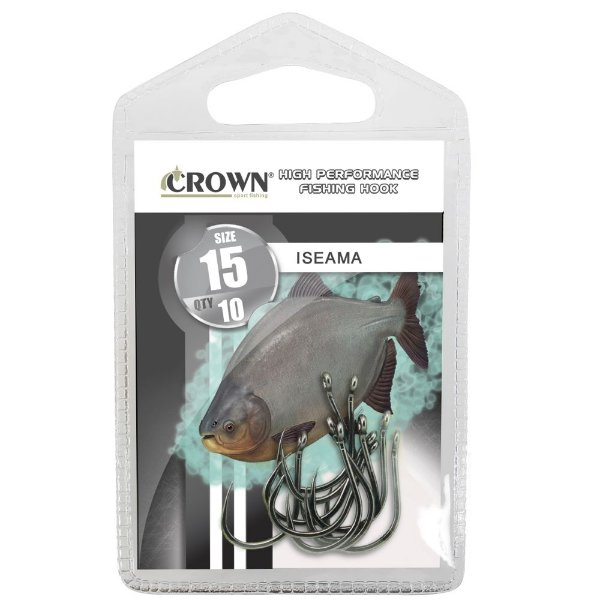 Anzol Iseama Black - Crown