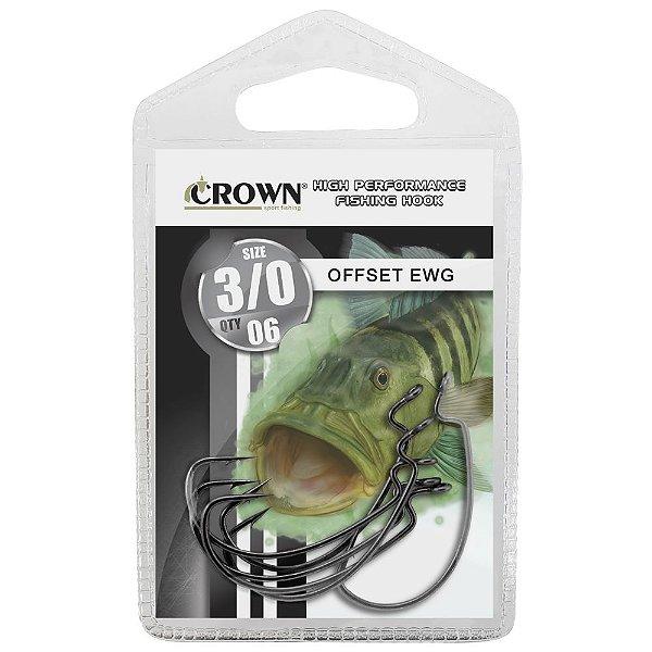 Anzol OFF SET EWG - Crown