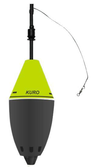 Bóia Cevadeira KURO copo preto - JR PESCA (cores)
