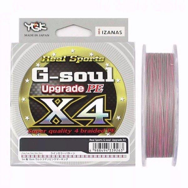 Linha Multi Ygk G-soul Upgrade X4 200 M (diâmetros) - Made in Japan