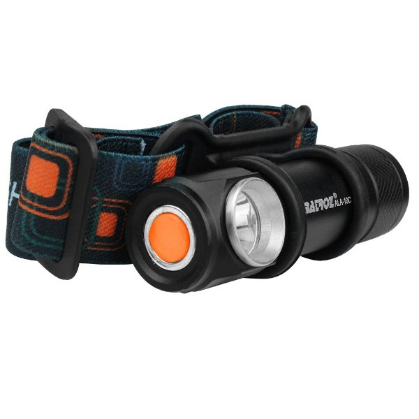 Lanterna Cabeça c/ regulagem - LED Recarregável Albatroz Ala-10c