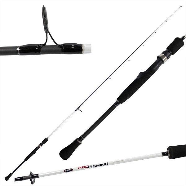 Vara Molinete Pro Fishing Solid Carbon - Saint Plus