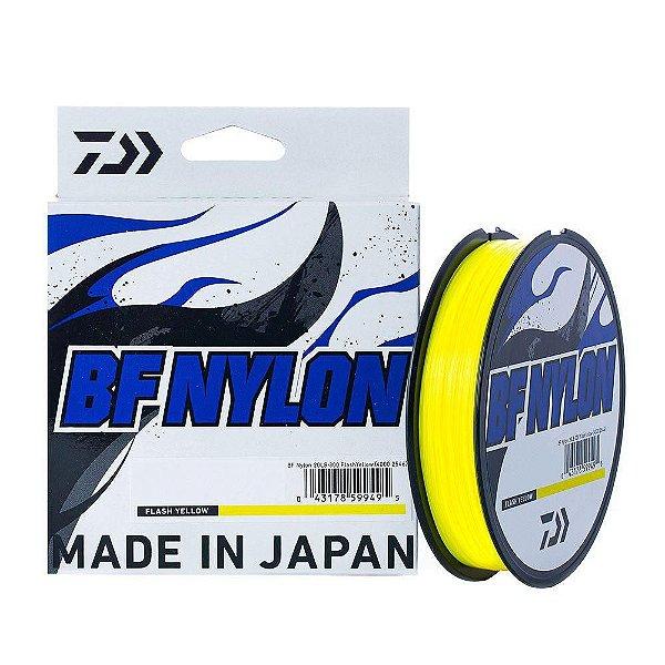 Linha Daiwa BF NYLON Amarelo 0.37 mm 300m - Monofilamento