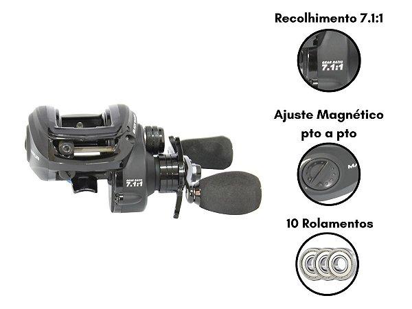 Carretilha Black Tamba Maruri - Drag 8 Kg - 135m 0,37 mm