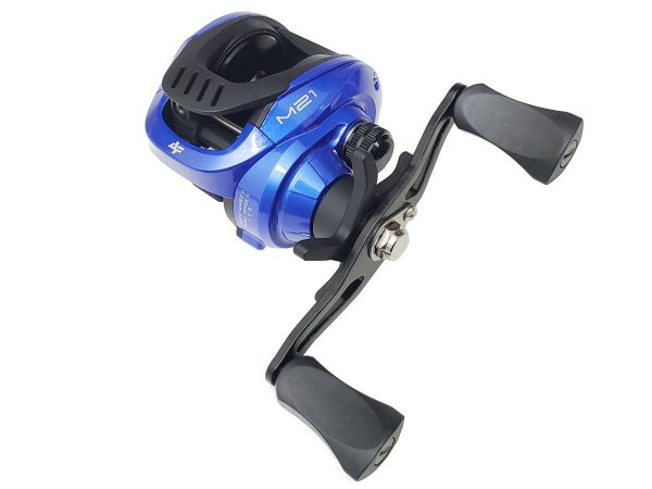 Carretilha Perfil Baixo Albatroz M21 Azul (190m  0,30mm)