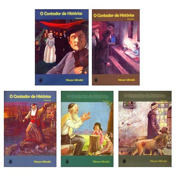 Coleção infantil O Contador de Histórias 5 vol