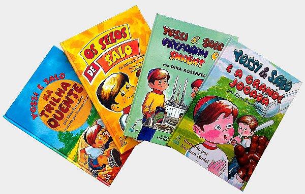 Coleção infantil Yossi e Salo, 4 vol