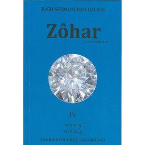 Zohar (Livro 4) Autor: Shimon Bar Iochai