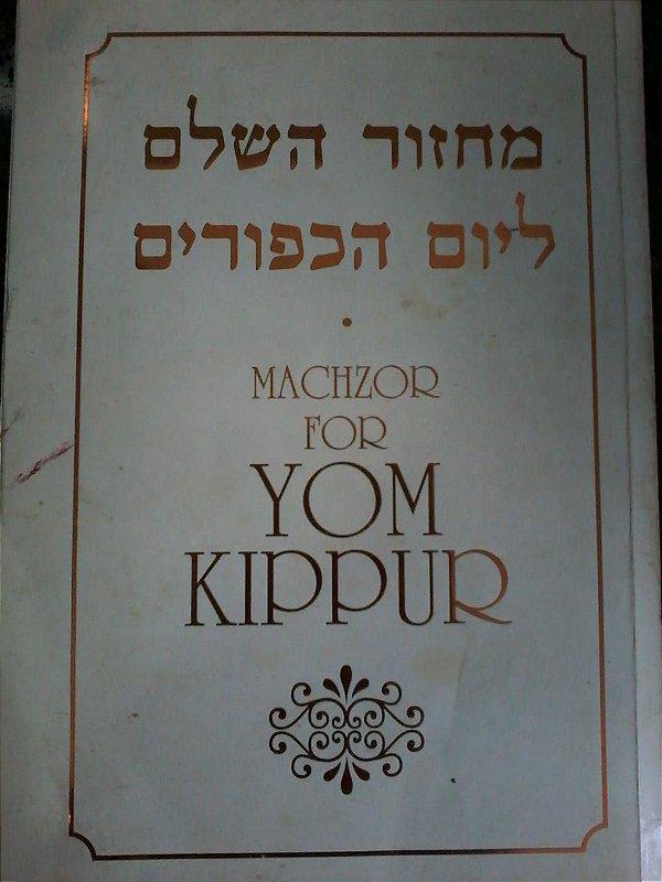 Machzor for yom kippur