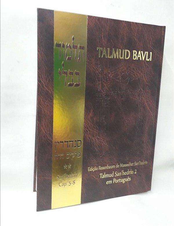 Talmud Bavli - San'hedrin (capítulos 5-8)