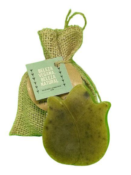 Sabonete em Flor Chá Verde e Clorofila