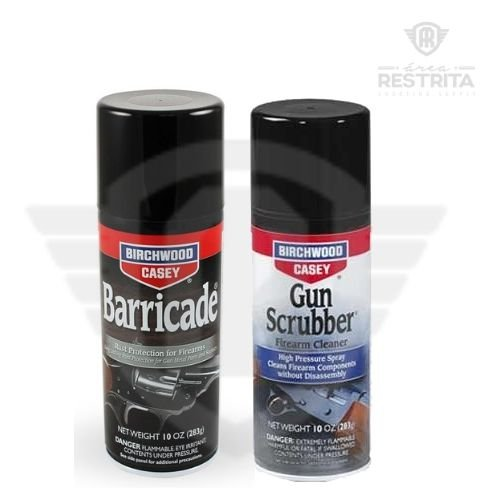 BARRICADE RUST PROTECTION AEROSOL +GUN SCRUBBER