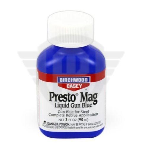 Presto Mag Líquido - Oxidação A Frio Preto Azulado Com Brilho