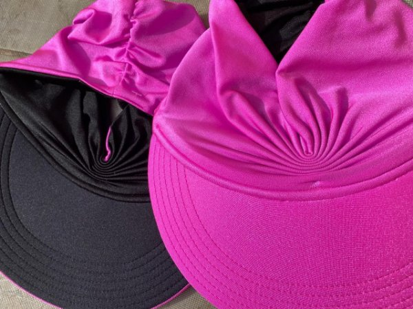 Viseira Turbante UV50+ DUPLA-FACE - Premium cor Fúcsia
