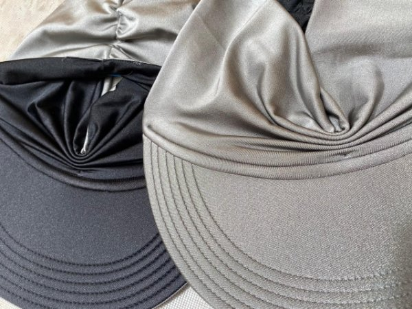 Viseira Turbante UV50+ DUPLA-FACE - Premium cor Chumbo