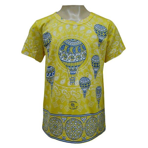 Camiseta Infantil - Balões