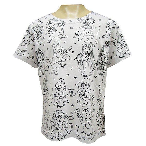 Camiseta Infantil - Orixás Mirins