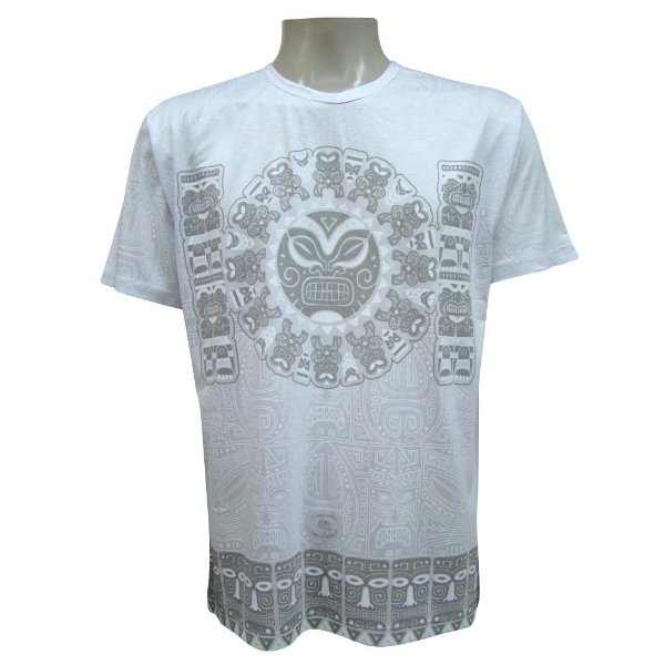 Camiseta Manga Curta - Tiki
