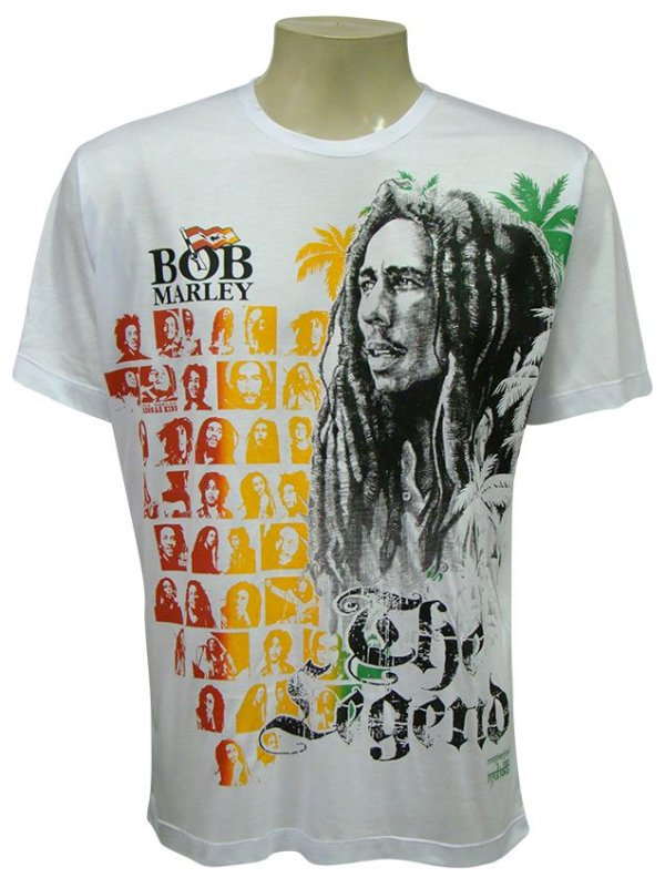 Camiseta Manga Curta - Bob Legend