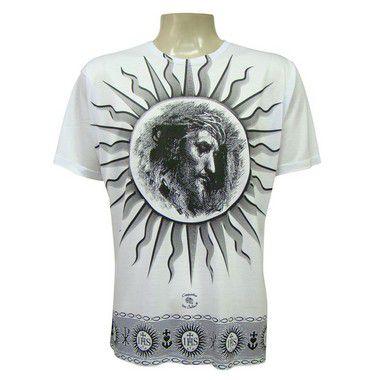 Camiseta Manga Curta - Jesus IHS