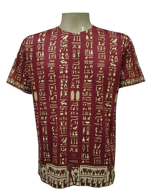 Camiseta Manga Curta - Egípcio