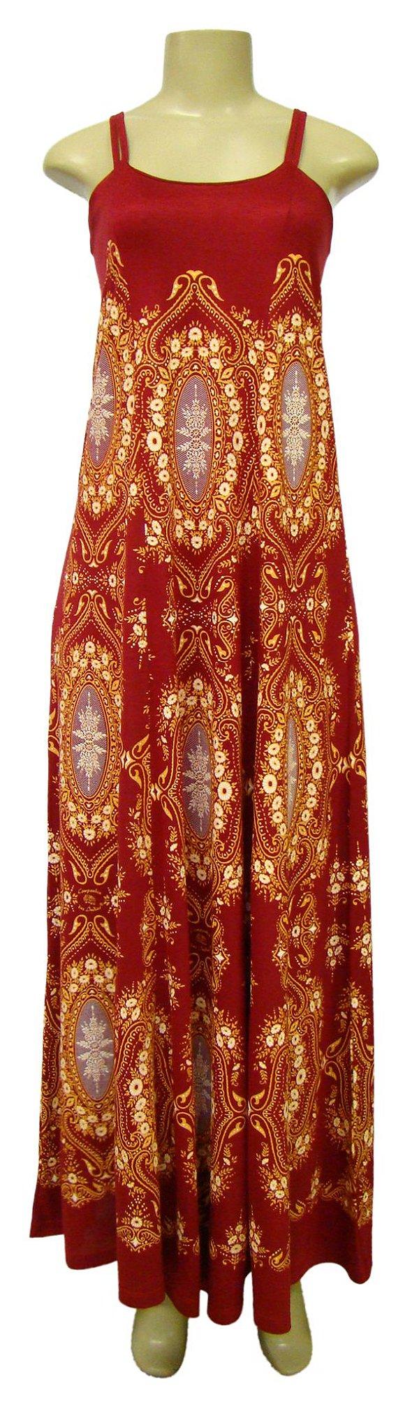 Vestido Longo Dupla Alça - Voluta