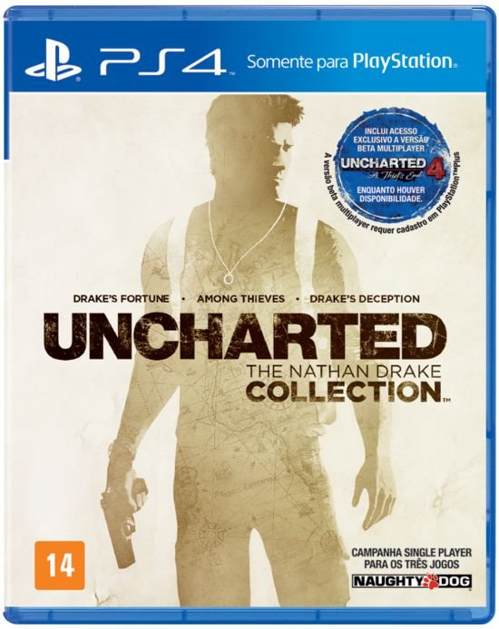 Jogo Playstation 4 - Uncharted The Nathan Drake Collection