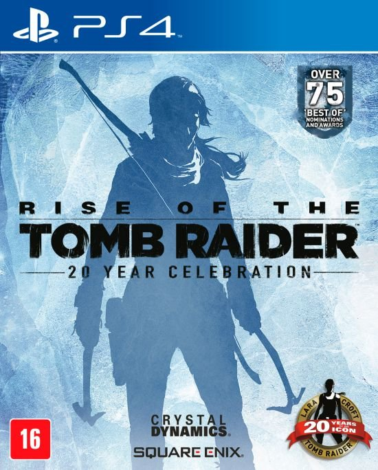 Jogo Playstation 4 - Rise of the Tomb Raider