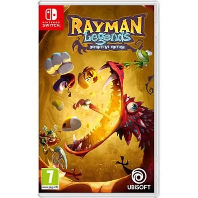 Jogo Nintendo Switch - Rayman Legends Definitive Edition