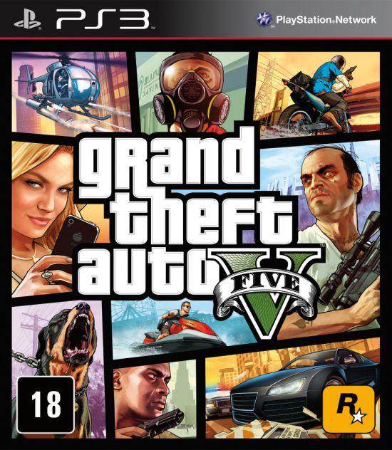 Jogo Playstation 3 - Grand Theft Auto V - GTA 5