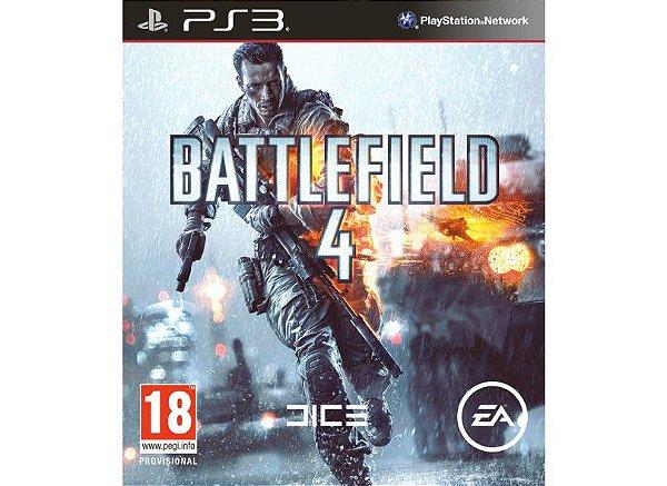 Jogo Playstation 3 - Battlefield 4