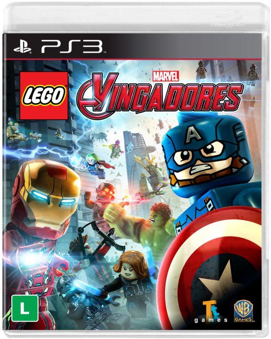 Jogo Playstation 3 - LEGO Marvel Vingadores