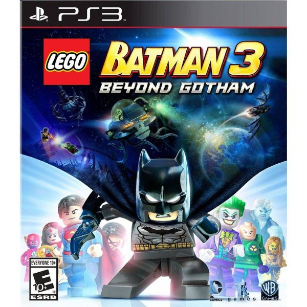 Jogo Playstation 3 - LEGO Batman 3 Beyond Gotham