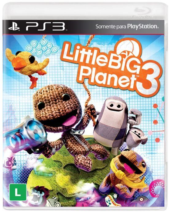Jogo Playstation 3 - Little Big Planet 3