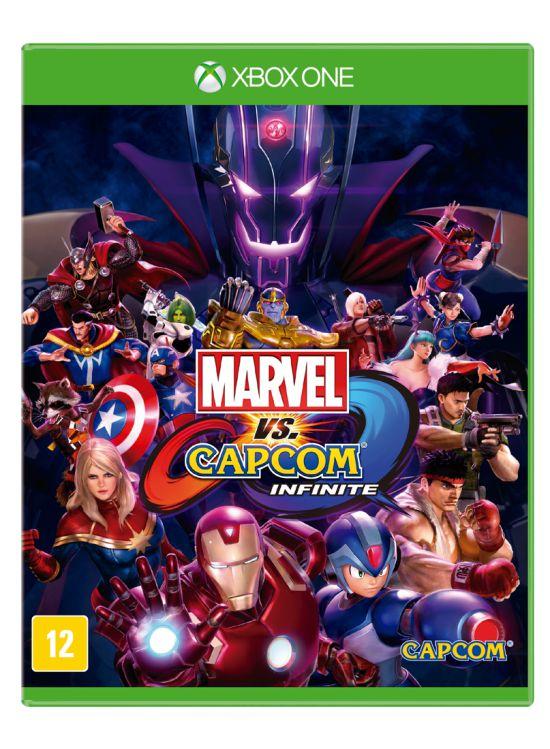 Jogo xbox One - Marvel VS Capcom Infinite