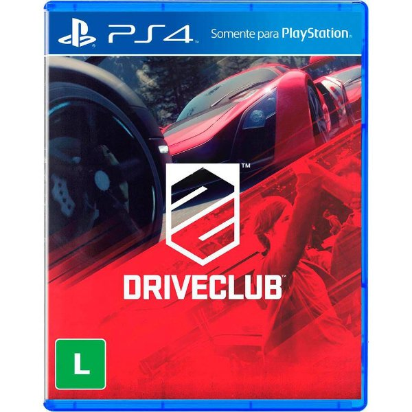 Jogo Playstation 4 - Drive Club